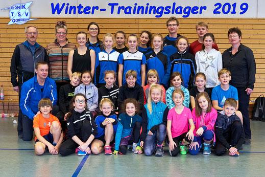 Während der Winterferien konnten sich die Gornsdorfer und Ehrenfriedersdorfer Athletinnen und Athleten bereits kennen lernen.