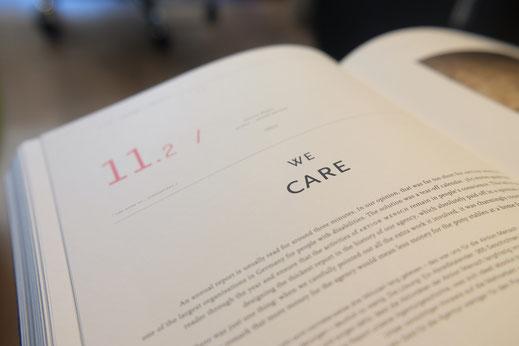 Pilates für Unternehmen. Buch. We care.