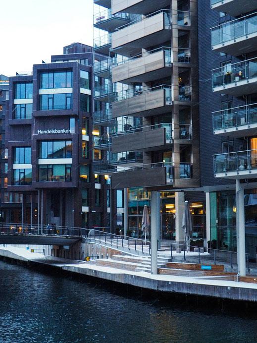 Aker Brygge, Oslo, Modern, Architecture