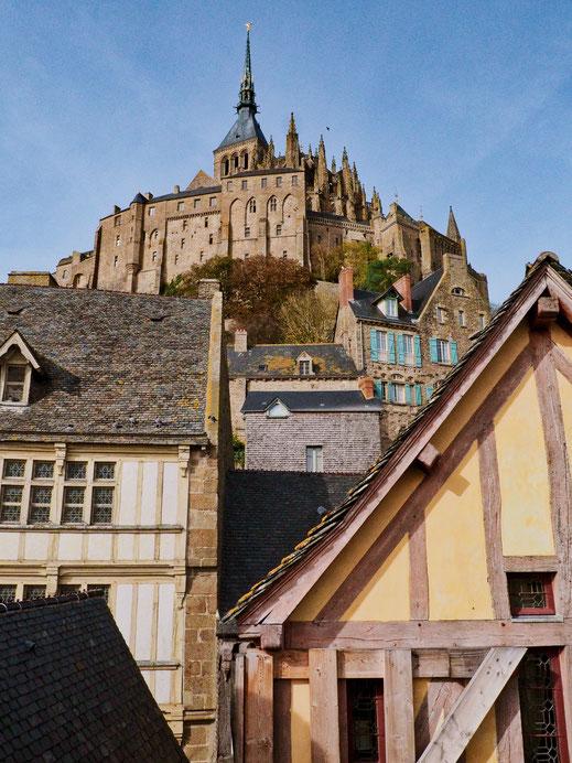 Old town, Diagon Alley, Mont-Saint-Michel, Baie du Mont-Saint-Michel
