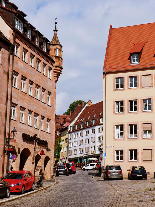Typical architecture of Nuremberg