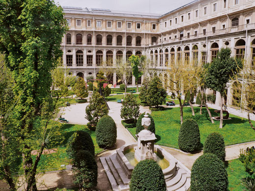 Inner courtyard of the Reina Sofía Museum