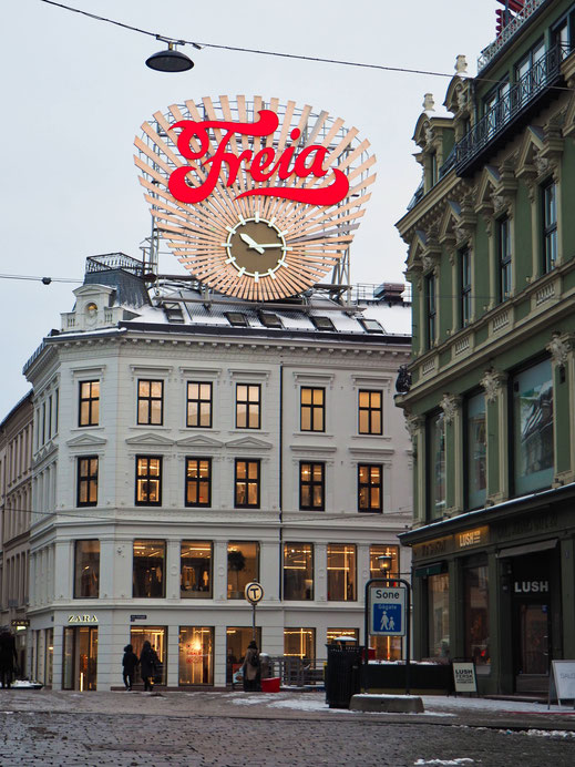 Freia - Famous chocolate brand in Norway (try it)