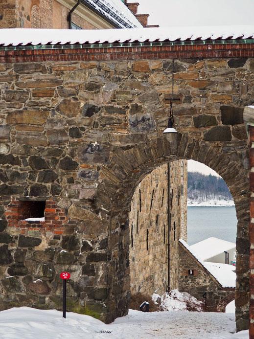 Akershus Castle, Oslo, Gate
