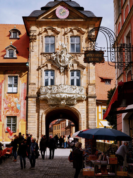 The Altes Rathaus and its beautiful facade