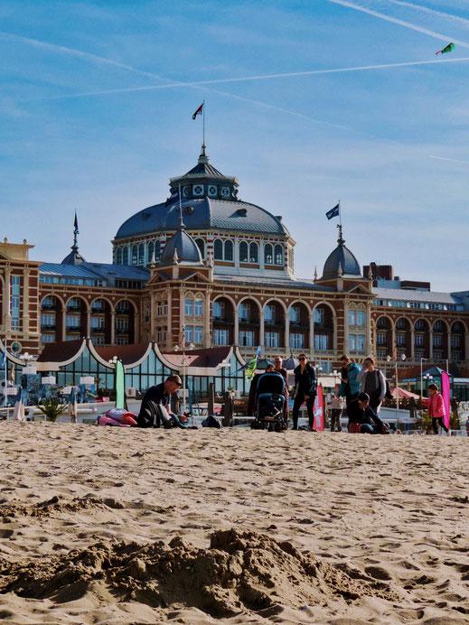 Kurhaus - Scheveningen beach in The Hague