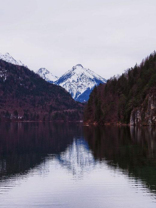 The Alpsee Lake