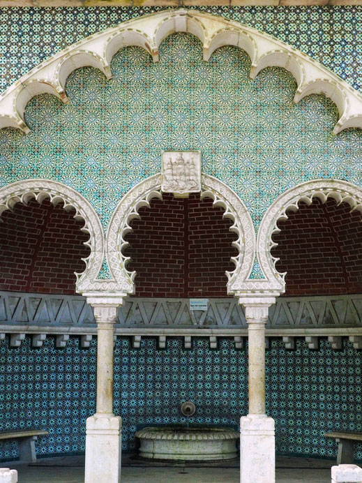 Fonte Mourisca - An example of the beautiful Moorish architecture