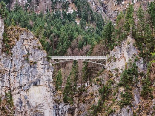 Marienbrücke bridge, Füssen, Bavaria