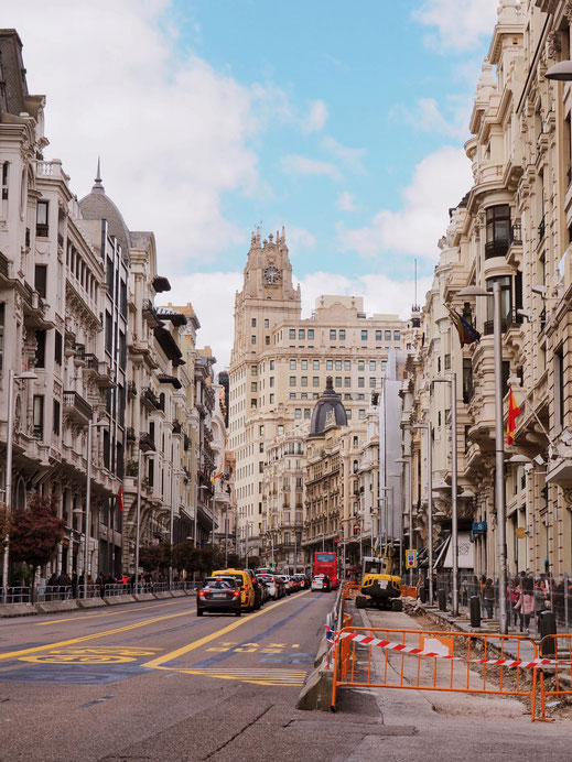 Gran Vía - Madrid's most famous avenue