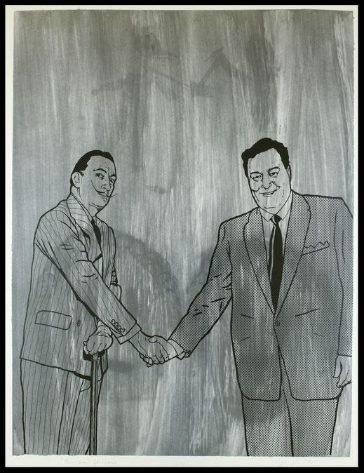 Jim Shaw / Benjamin Weissman Edition 1992 (Gleason meets Dali).