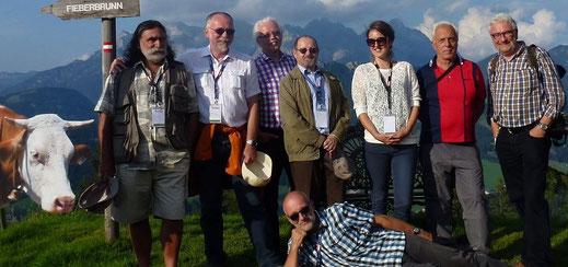 JURY - DANIEL CARACCI FRA, WIM AERTGEERTS BEL, WOLFGANG ALLIN AUT, REINHARDT STEININGER AUT, GRETA VARTS EST, LADISLAV FRANTIŠ CZE, BERNHARD LINDNER DEU & Coordinator Rolf Leuenberger CHE