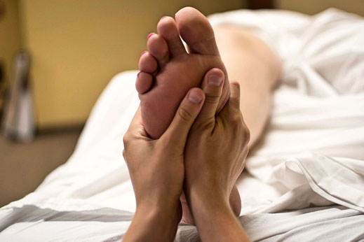 Reflexology, also known as zone therapy, is an alternative medicine involving the application of pressure to the feet and hands with specific thumb, finger and hand techniques, without the use of oil or lotion.