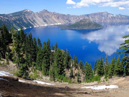Crater lake Oregon - Alain RIVERA