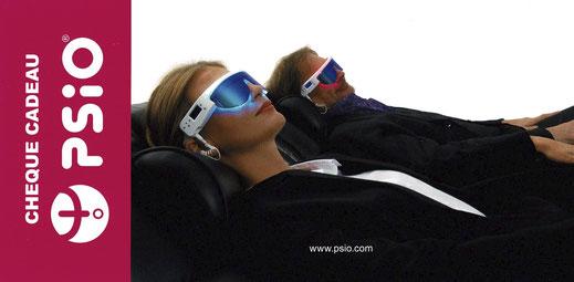 cheque cadeau PSiO - seance gratuite luminothérapie et relaxation