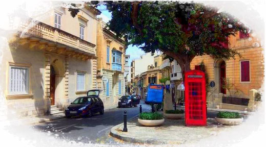 England Britische Inseln rote Telefonzellen Telefonhäuschen Wahrzeichen Vereintes Königreich Tourist Reise Urlaub Sehenswürdigkeit