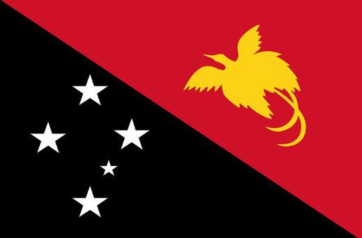 Unabhängiger Staat Papua- Neuguinea - Flagge