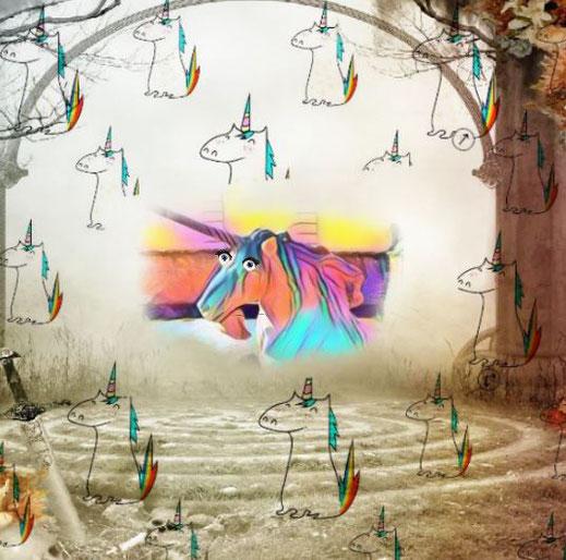 Einhorn Fabeltier Märchen Apotheke Symbolgestalt Trend Kryptozoologie Narwal Physiologus Pferd Schimmel das Gute Bedeutung Geschenk Kuscheltier Spielzeug Krafttier Reinheit Mythos Symbolik Talisman Emoji