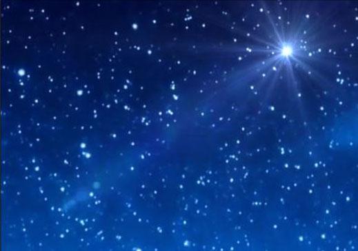 Himmel Traumland Wohnsitz der Götter Sternenhimmel Planeten Universum 7. Himmel Galaxie Transzendenz