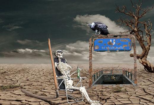 Das Atlantropa Projekt. Mögliche Klimaschäden. Trockenheit durch künstlich herbeigeführte Klimaveränderungen?