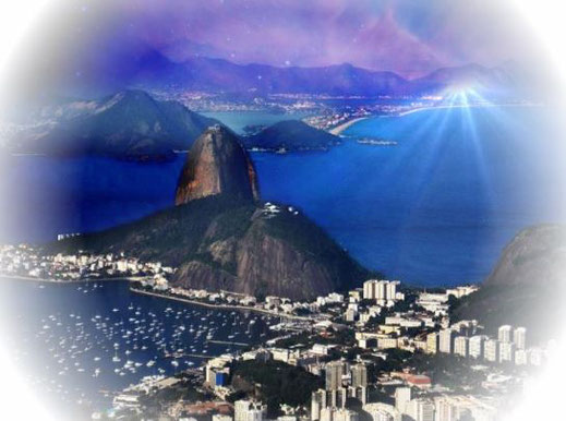 Christus Statue Rio de Janeiro Brasilien Cristo Redentor Wallfahrtsort Monument Zuckerhut Art Déco Architektur Zuckerhut Felix Baumgartner Weltwunder der Neuzeit  Buddha-Statuen Christusfigur Standbild