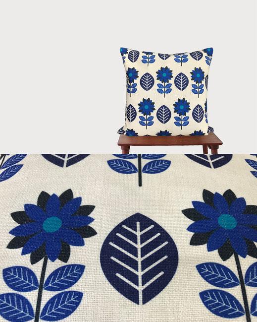 きとぷらす 森のクッション ヒノキの香り 北欧デザイン