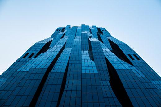 Einer der Tower in der Donaucity