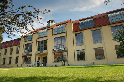 Die Bauhaus Universität in Weimar / Foto: Ralf Herrmann, Wikipedia,