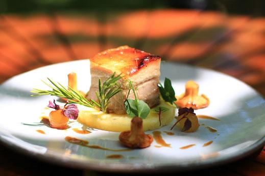 Saveurs Pyrénées Audoises - recette poitrine de porc - Philippe Deschamps