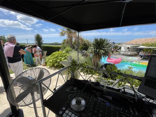 DJ pour Garden Party en Poitou-Charentes - Franck Dyziak
