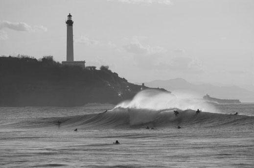 Biarritz Pays Basque Plage Inspiration Fanfaron