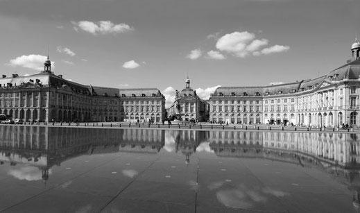 Place de la Bourse Bordeaux France Inspiration Fanfaron
