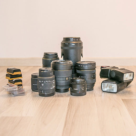 Privater Fotokurs Beratung Kameraausrüstung