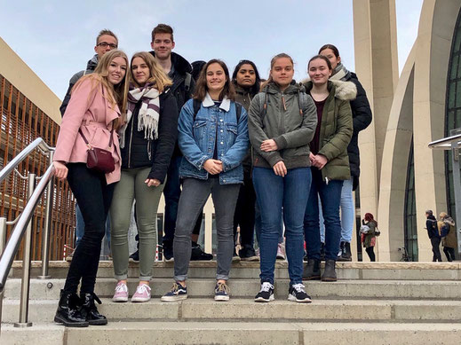 Exkursion des Religionskurses der Q2 nach Köln