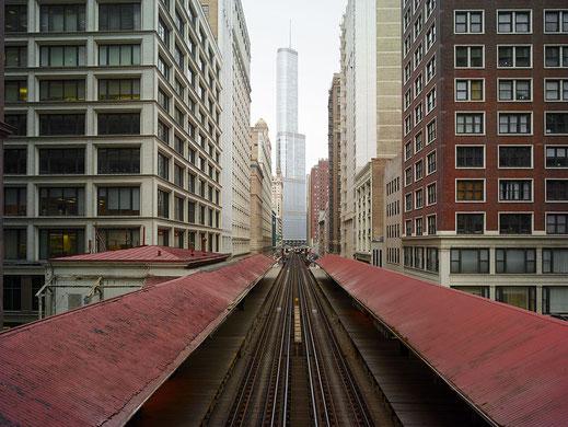 "Josef Hoflehner, ""Madison/Wabash, Chicago, Illinois"", 2013, 80 x 100 cm, Auflage: Edition 7 Stück"
