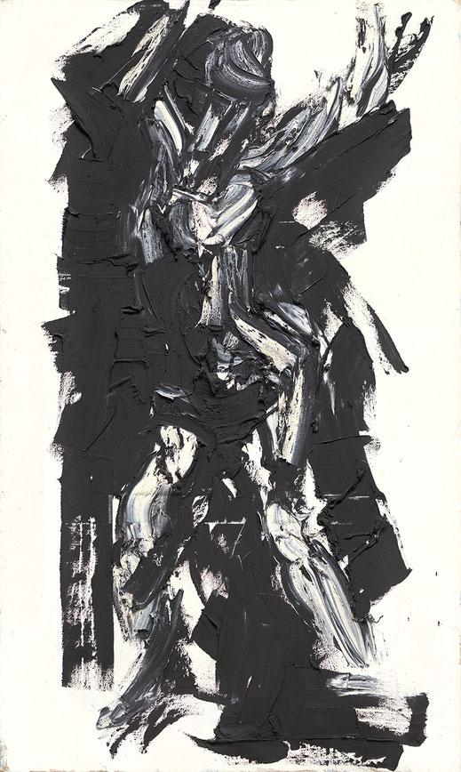 "Franz Grabmayr, ""Tanzbild"", 1972-73, Öl auf Leinwand, 200 x 117 cm"