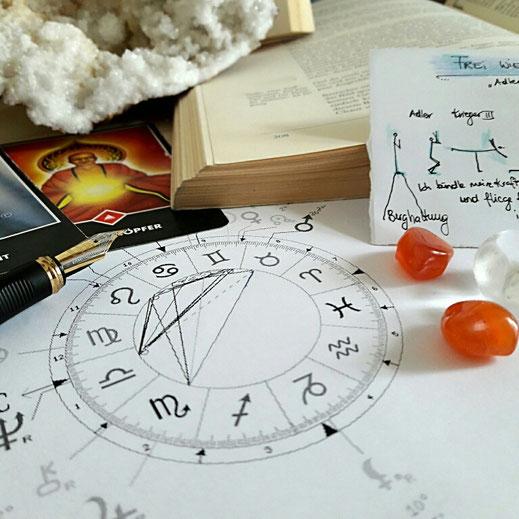 Die 3 Tabus: Geld, Sexualität, Essen. Workshop mit Psychologischer Astrologie & Yoga in Graz.