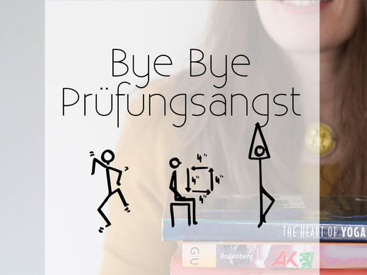Mini-Yoga: 3 Übungen gegen Prüfungsangst und Lampenfieber.