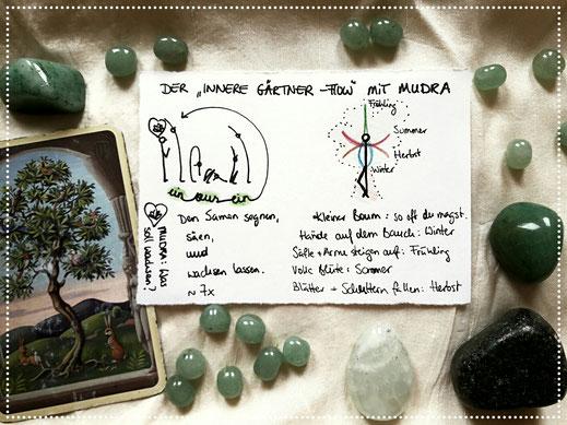 Holz-Element: Gärtner-Flow mit Mudra