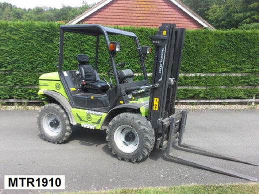 All terrain forklift hire in Kent and Sussex