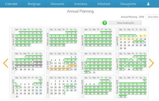 Calendario de un propietario MMC Property Services