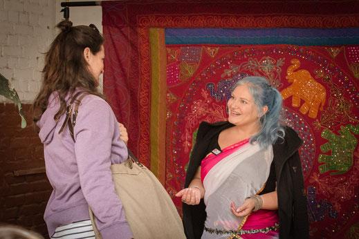 Bauchtanz und Beckenbodentraining zur Rückbildung mit Niyati Manjulali