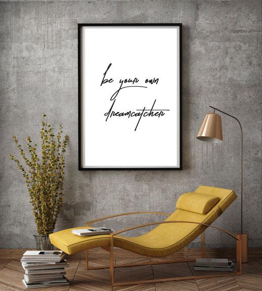 Typografie Poster, Print, Inspiration