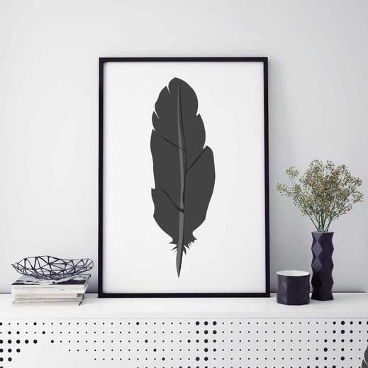 Illustration - schwarz-weiß - Feder - nonoyes