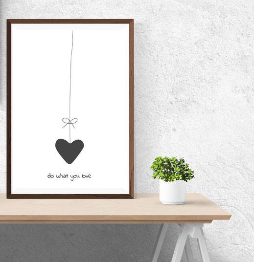 Typografie Print, do what you love!