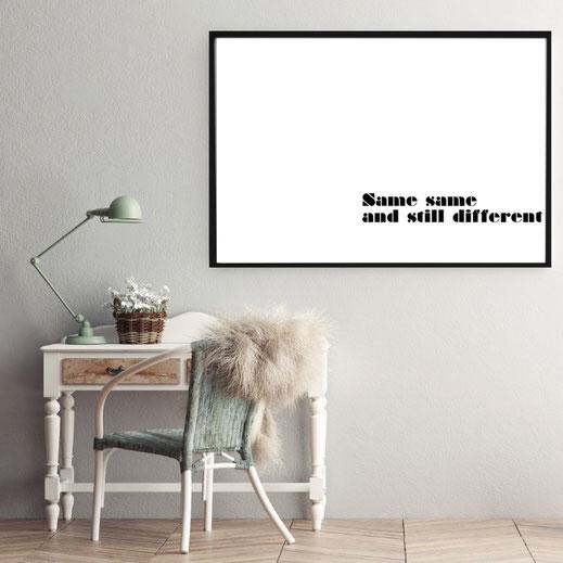 Typografie Poster, Print