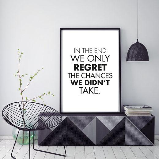 Typografie Print, Motivation
