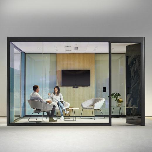 Bosse Human Space Cube 4.0, Raum in Raum System für Großraumbüros