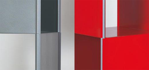 Stahlregal steel12 Details Focus in Gold 2002 und Publikumspreis