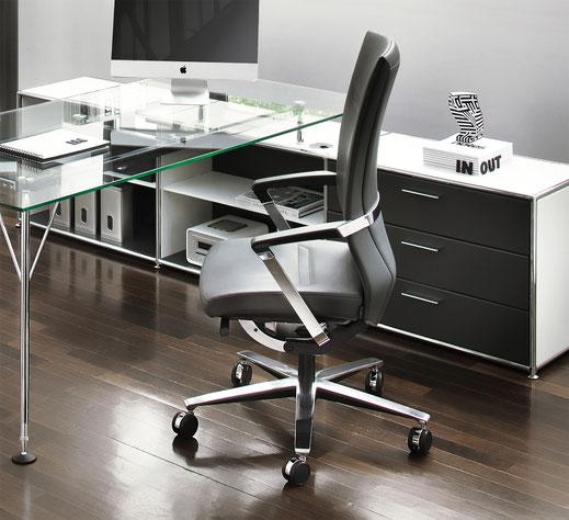 Züco DucaRe Bürodrehstuhl Premium Schreibtisch Ambiente